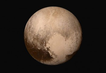 NASA Unveils First Color Close-up of Pluto
